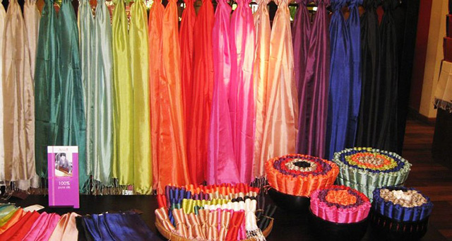 Cambodia-Silk