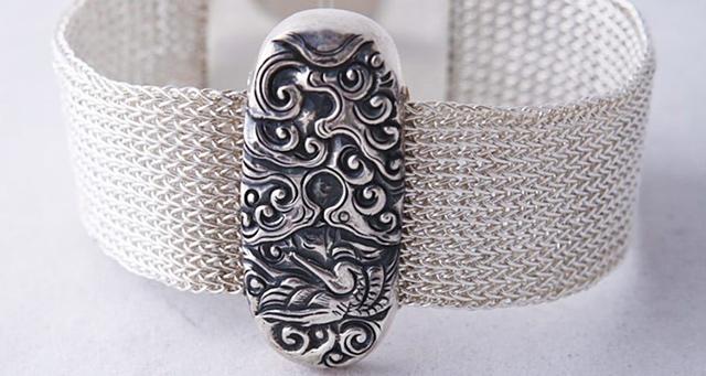 Cambodia-Silver Jewelry