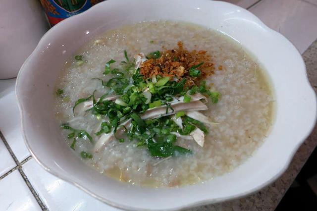 Bobor Rice Porridge