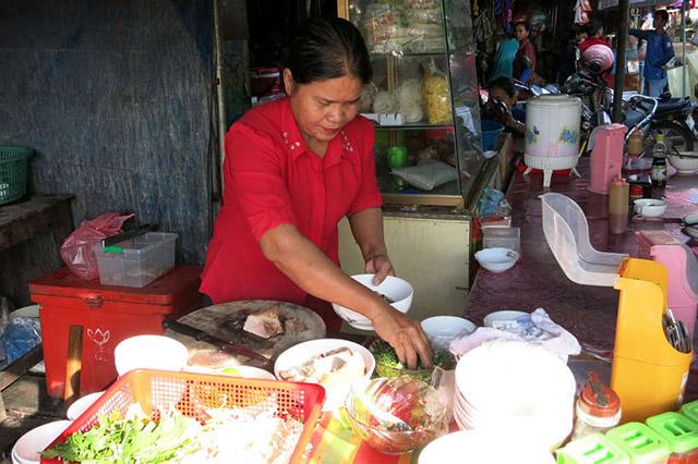 Langka Market Food Stall
