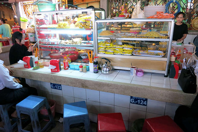 Central Market Food Stall