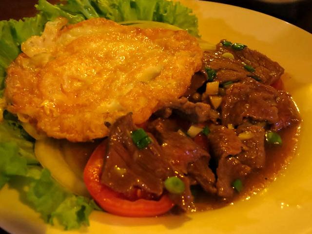 Beef Lok Lak-Cambodia